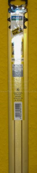 Alu-Übergangsprofil extra breit, gold, selbstklebend