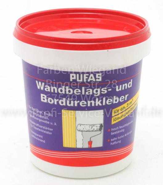Wandbelags- und Bordürenkleber BW Plus, 750 g