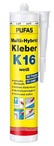 Hybrid-Kleber- Multi K 16, 290 ml, weiß-1