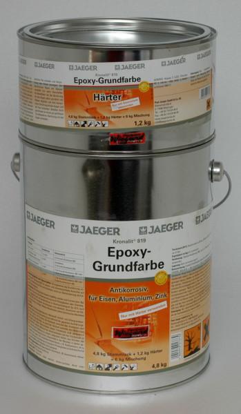 Kronalit® Epoxy Grundfarbe, lichtgrau, 6 kg