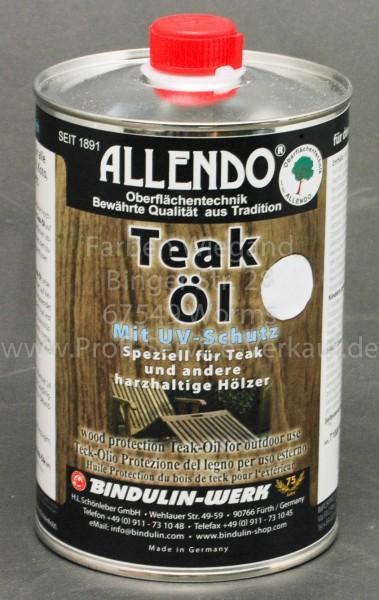 Teak-Öl farblos 1000 ml