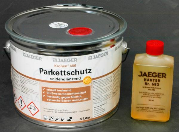 Kronen® Parkettschutz seidenglänzend 5.5 l