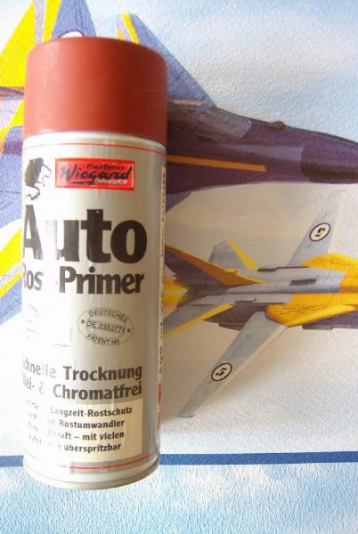 LÖWE Auto-Rost-Primer Spray, rotbraun