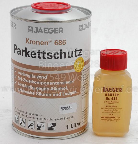 Kronen® Parkettschutz seidenglänzend 1.1 L