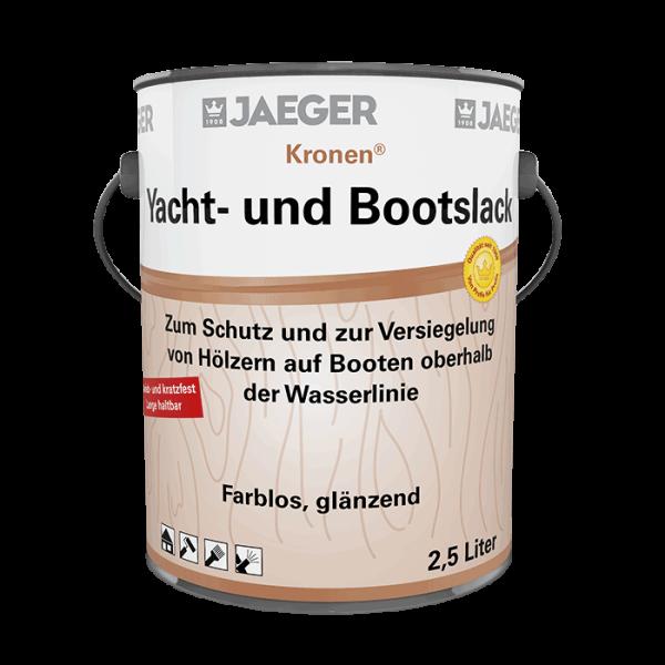 Kronen® Yacht- und Bootslack farblos, glänzend, 2,5 l