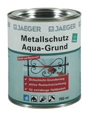 Metallschutz Aqua Grund rotbraun 2.5 l