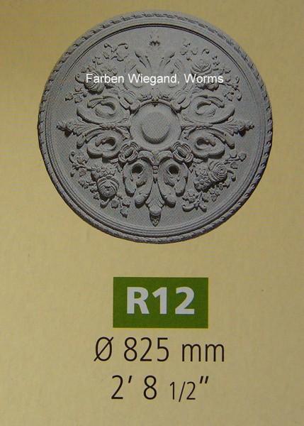Rosette R 12;  Durchmesser 825 mm