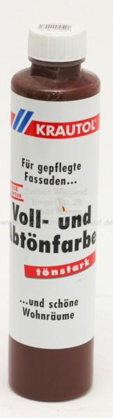 Voll- und Abtönfarbe schokoladenbraun 750 ml