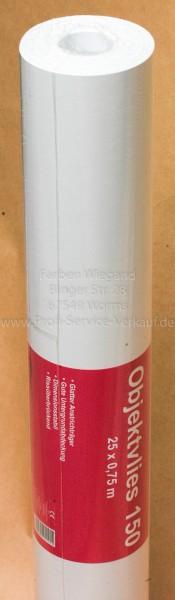 Erfurt Malervlies Objektvlies 150 g (25,00 * 0,75 m), Renoviervlies, Saniervlies