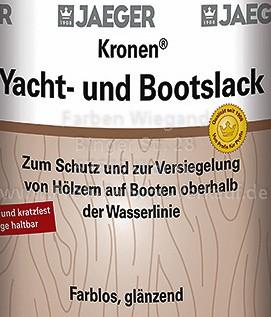 Kronen® Yacht- und Bootslack farblos, glänzend, 375 ml