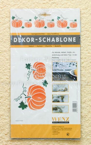 Kürbis Dekor-Schablone