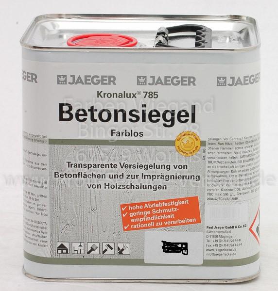 Kronalux® Betonsiegel farblos 2.5 L