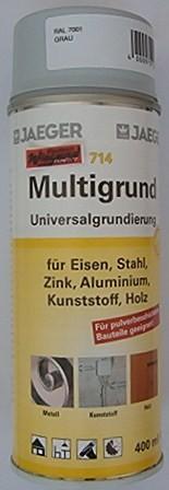 Jaeger Multigrund-Spray, grau, 400 ml