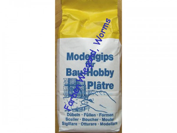 Modellgips für Bau + Hobby 1,5 kg