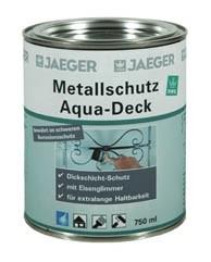 Metallschutz Aqua Deck weiß 750 ml