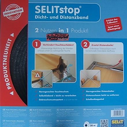 SELITstop® Dicht- und Distanzband, 20 m