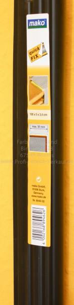 Treppeneinschub, schwarz 100x5x3,4 cm-1
