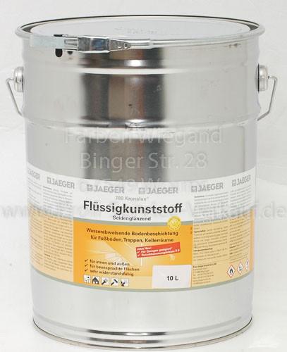 Kronalux® Flüssigkunststoff kieselgrau 10 l