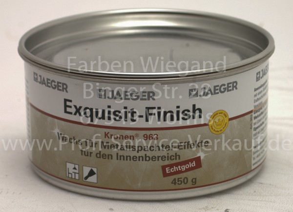 Exquisit Finish Echtgold 450 g