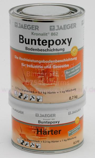 Kronalit® 2K-Buntepoxy verkehrsgelb, RAL 1023, 1 kg