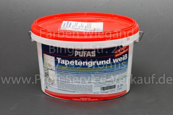 Tapetengrund weiß Pufas, 2,5 l