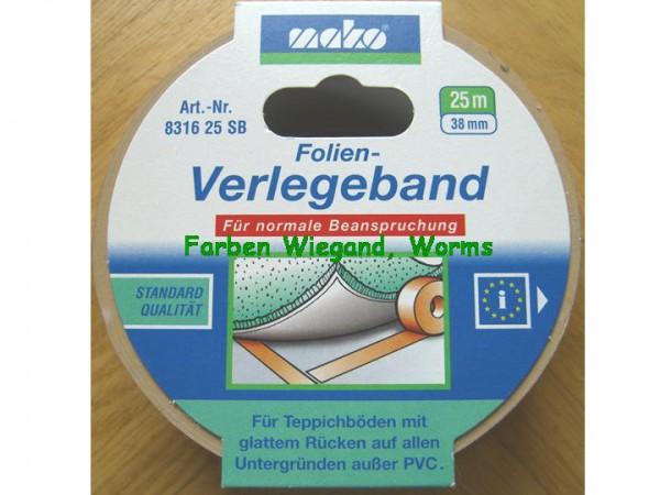 Folien Verlegeband, 35 mm, 25 m