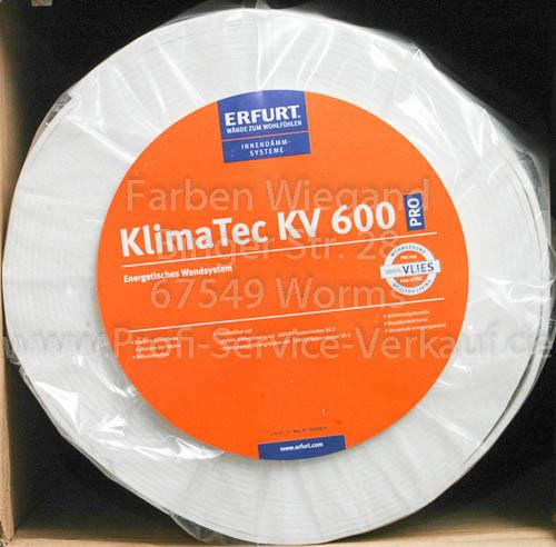 KlimaTec Pro KV 600, Erfurt, Gewerbequalität, Anbruch 1 m x 4 mm-1