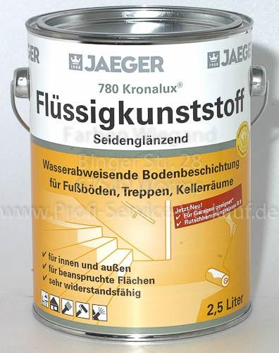 Kronalux® Flüssigkunststoff schokoladenbraun 2.5 l