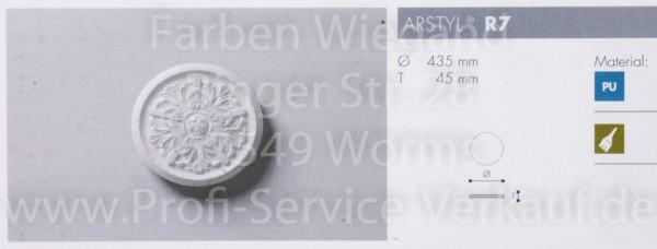 Rosette R 7;  Durchmesser 435 mm
