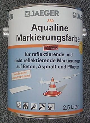 Aqualine Markierungsfarbe blau 2.5 l