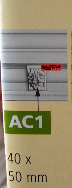 5er Set Dekorationsteil AC 1 für Z 24 - 40 x 50 mm