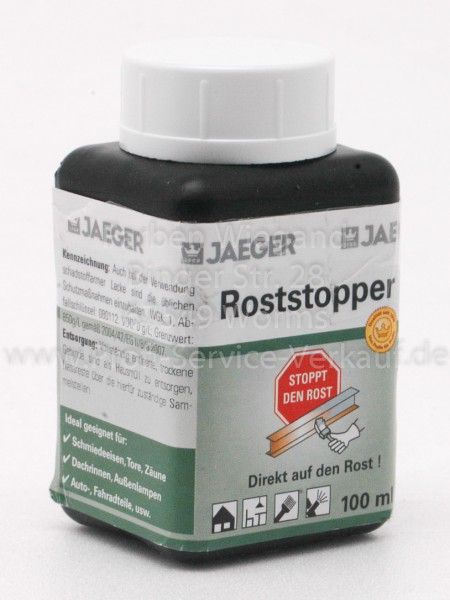 Jäger Roststopper 100 ml