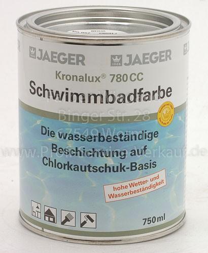 Kronalux®  780 CC Schwimmbadfarbe capriblau 750 ml