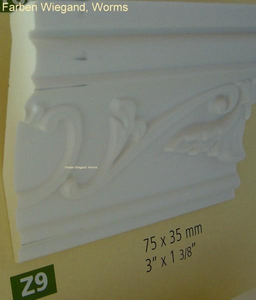 NMC Arstyl® ornamentiertes Zierprofil  Z9, 200 x 7 x 3,5 cm