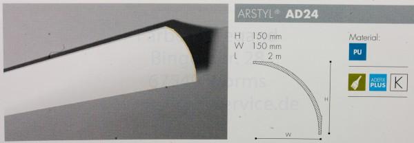 NMC Arstyl® lineares Zierprofill AD24 200 x 15 x 15 cm