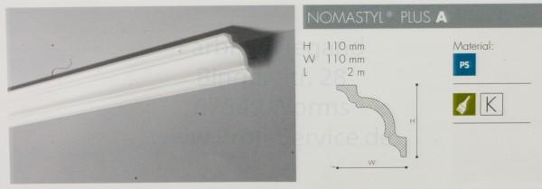 NOMASTYL® PLUS Zierprofil  A 200 x  11 x 11 cm