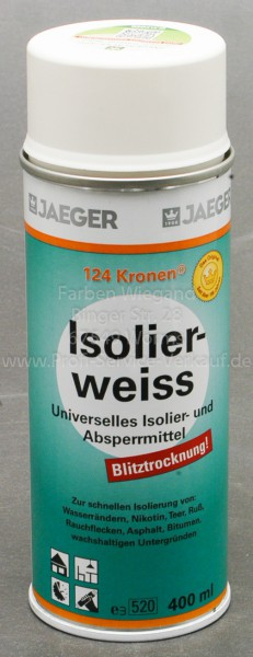 Kronen® Isolierspray weiß, 400 ml