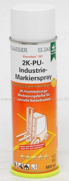 Kronalux® 2K-PU-Industrie-Markierspray gelb 1023, 500 ml