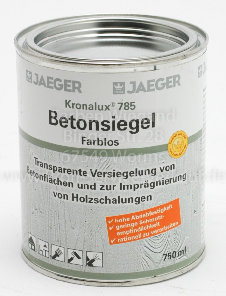 Kronalux® Betonsiegel farblos 750 ml