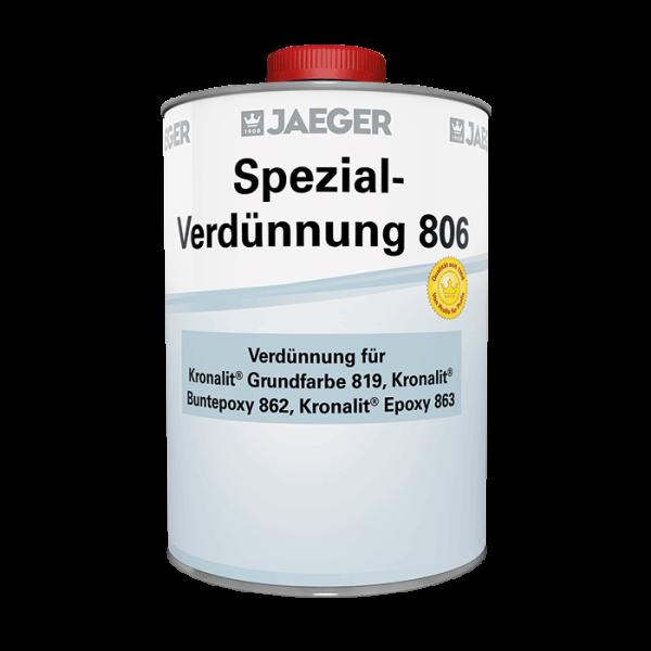Verdünnung für Grundfarbe, Buntepoxy, Kronalit Epoxy