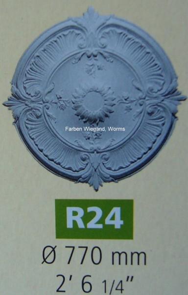Rosette R 24;  Durchmesser 770 mm