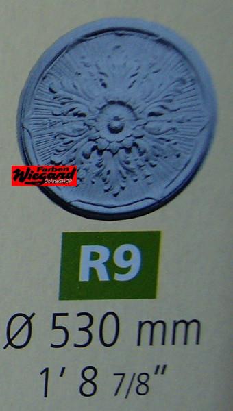 Rosette R 9;  Durchmesser 523 mm