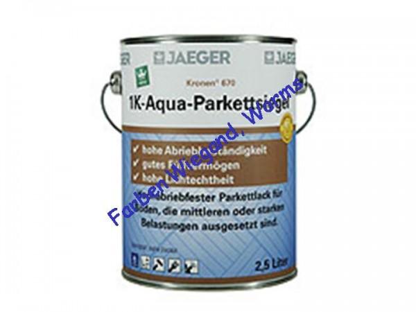 Kronen® 1K-Aqua Parkettsiegel glänzend,  10 L