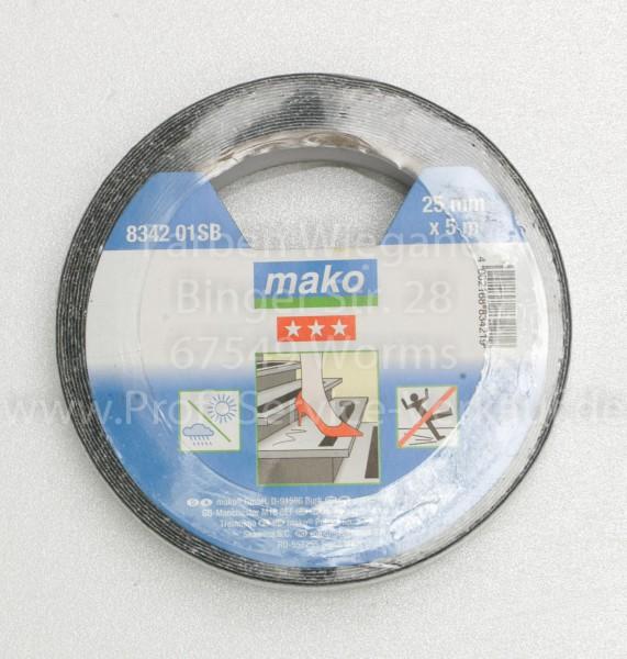 Anti-Rutschband schwarz, 25 mm x 5 m