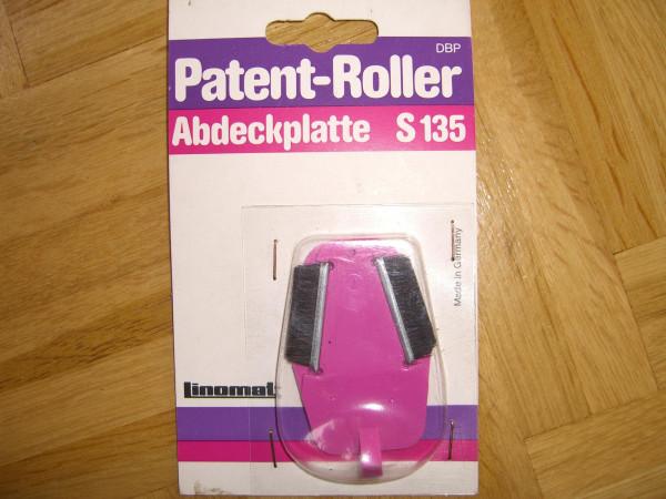 Abdeckplatte S135 für Patent-Roller für Beschneideroller