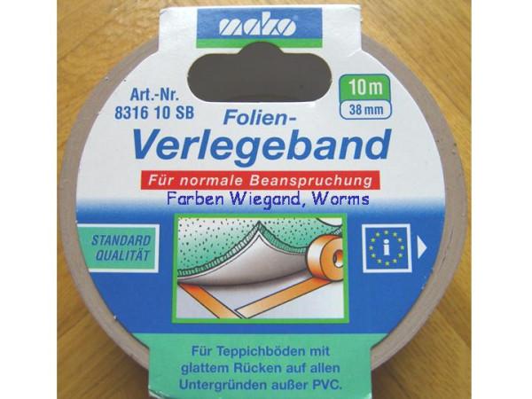 Folien Verlegeband, 38 mm breit, 10 m