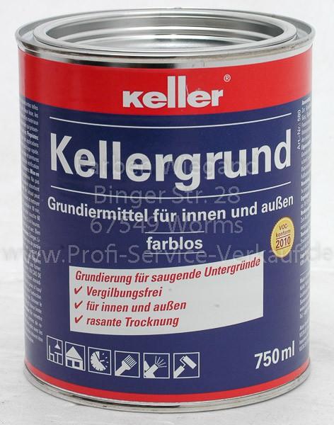 Keller® Kellergrund klar/ farblos 750 ml