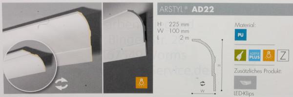 Arstyl AD 22 für Beleuchtug geeignwt