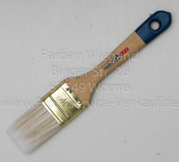 Flachpinsel Acryl Profi 40 mm