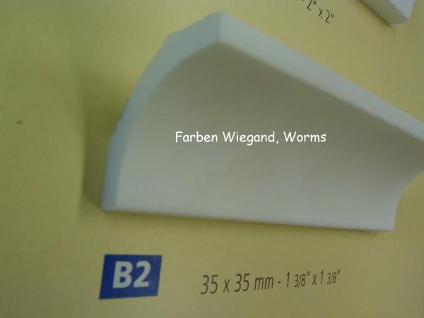 NOMASTYL® PLUS Zierprofil B2 200 x 3,5  xx 3,5 cm